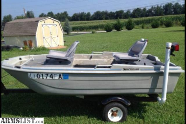 armslist for sale 2 man boat