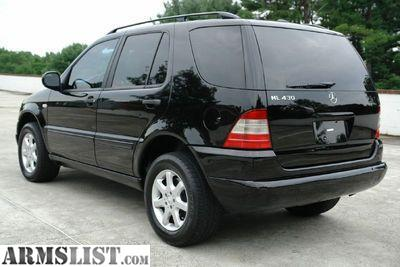 armslist for sale mercedes ml430 suv 2000. Black Bedroom Furniture Sets. Home Design Ideas