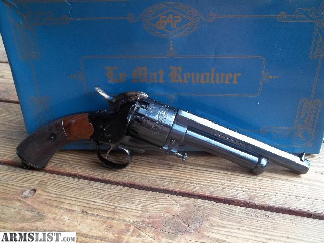 Lemat Revolvers For Sale http://www.armslist.com/posts/2057694/greenville-georgia-muzzle-loaders-for-sale-trade--lemat-revolver