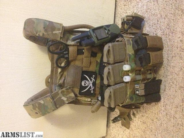 Armslist For Sale Plate Carrier Setup With Armor