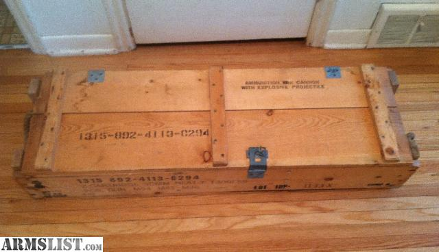 Armslist For Sale Surplus Wooden Ammo Box