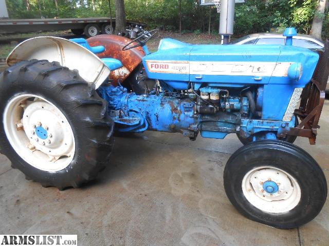 Ford 4000 Diesel Tractor : Tractor ford diesel cylinder horse power