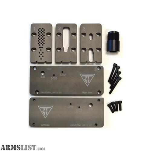 Cobalt Drill Bit Set >> ARMSLIST - For Sale: AR-15 80% Lower Adjustable Universal Jig Kit & Drill Bit Set