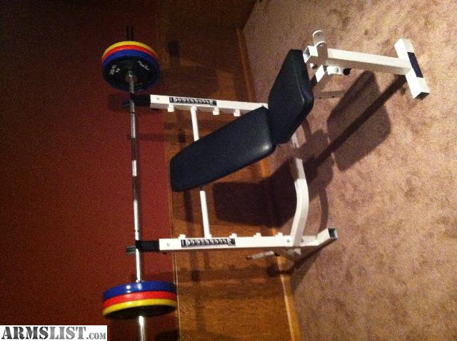 Armslist For Sale Olympic Weight Bench Excellent Cond