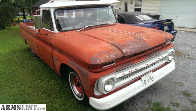 ARMSLIST - For Sale/Trade: 1964 Chevy C10 for sale or trade