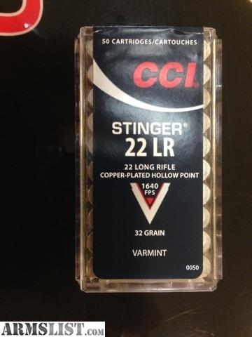 22lr Cci Stinger Ammo For Sale In Stock