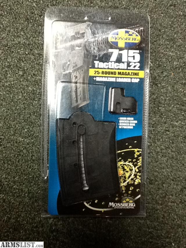 New Mossberg 715T 25 round magazines. Tax is included in price