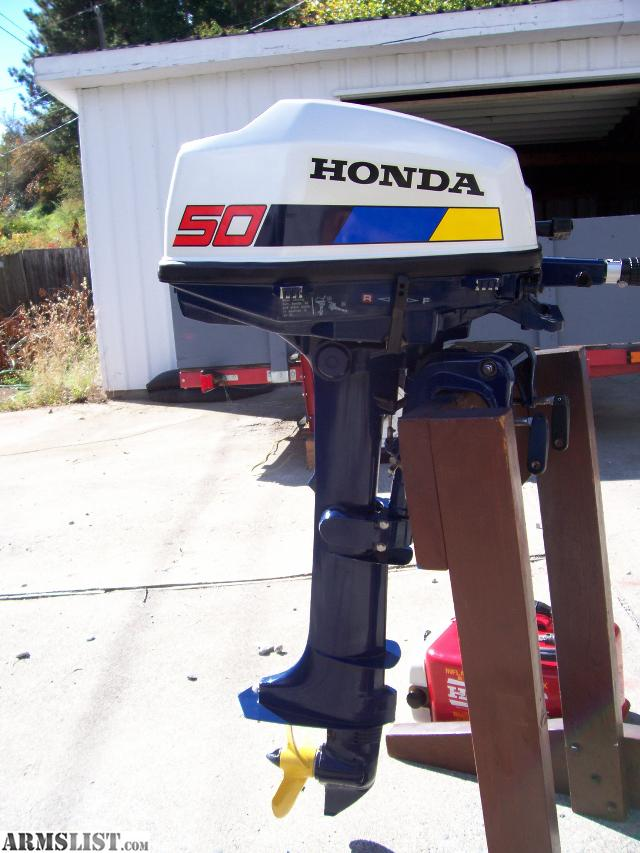 Armslist for sale trade mint condition 5hp honda for Honda 2 5 hp outboard motor