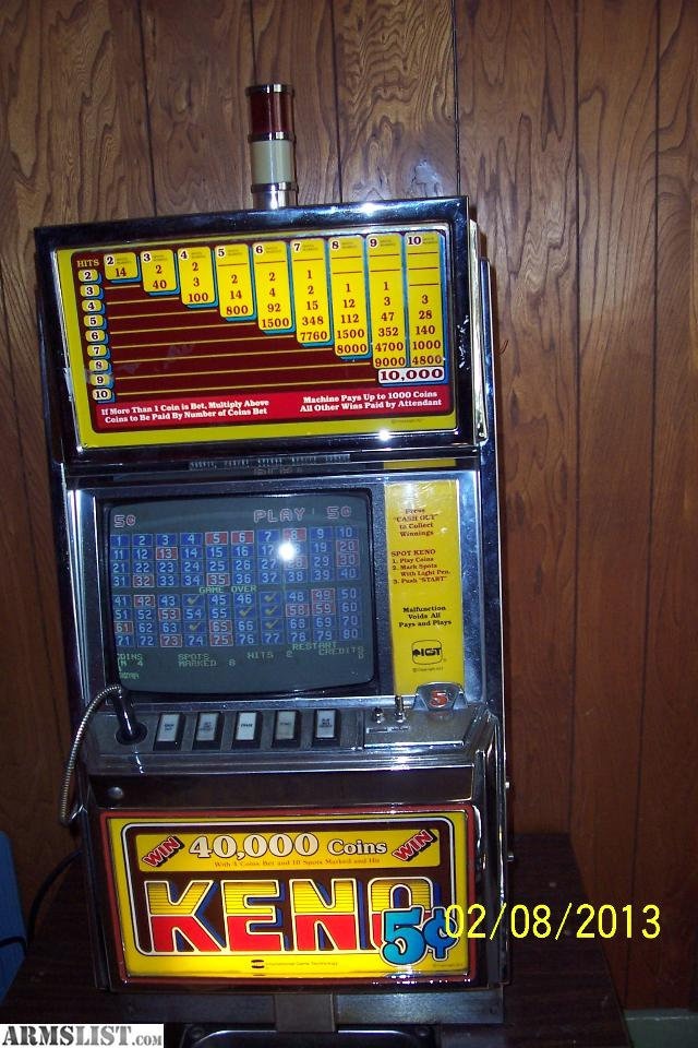 keno slot machine