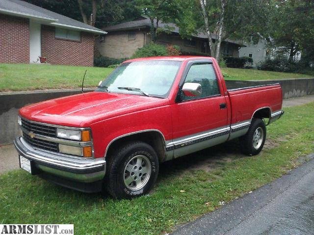 armslist for sale 1993 chevy silverado 2wd short box reg cab. Black Bedroom Furniture Sets. Home Design Ideas