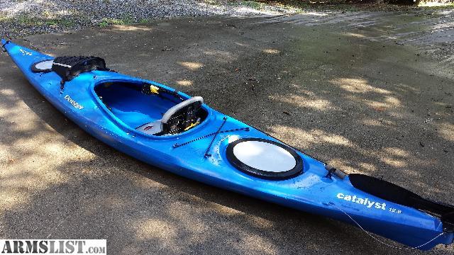 Armslist for sale fishing kayak dagger catalyst 12 8 for Used fishing kayaks for sale