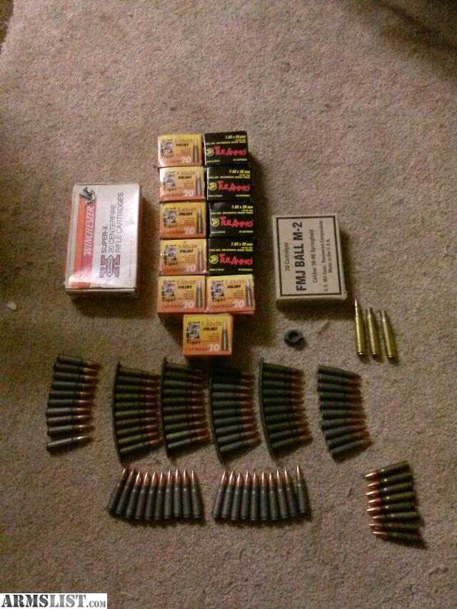 ARMSLIST - For Sale/Trade: 7.62x39 BULK! and 30'0'6!