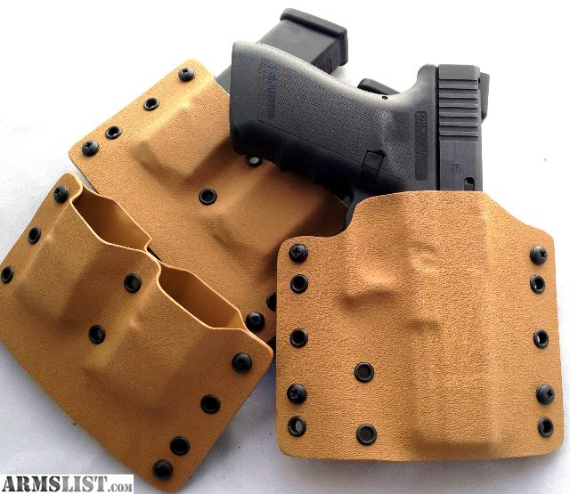 For Sale: Custom Kydex Holsters Here In Colorado