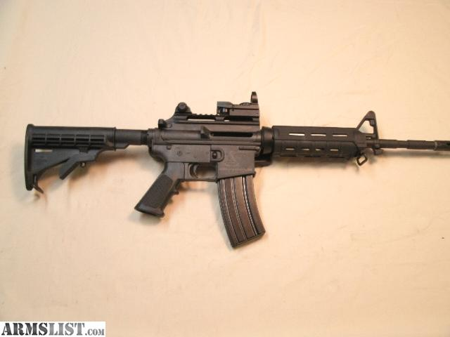 For Sale: Bushmaster AR-15 .223/5.56.Reflex Site