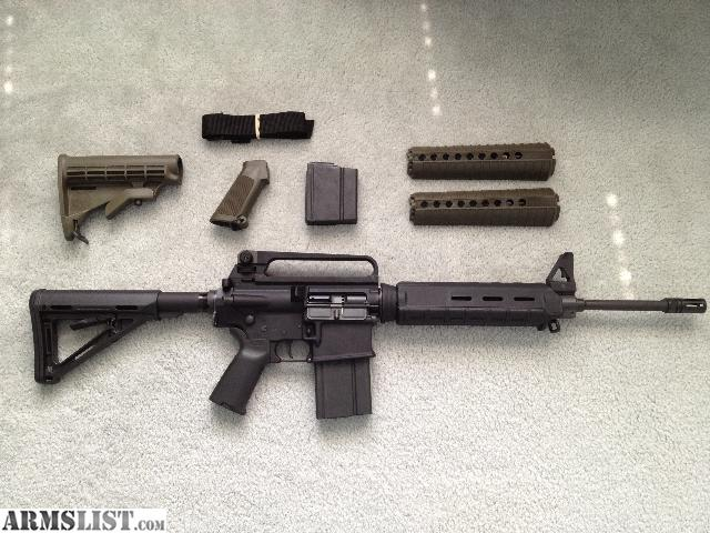 Armslist For Sale Armalite Ar 10 With Magpul Furniture