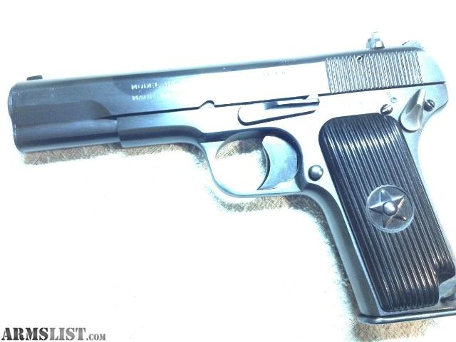 For Sale: 7.62 x 25 Tokarev +Holster +140 Rds Ammo