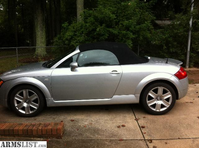 armslist for sale 2002 audi tt roadster trade for firearms. Black Bedroom Furniture Sets. Home Design Ideas