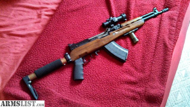 ARMSLIST - For Sale: SKS Chinese Folding stock Aireborne Custom: www.armslist.com/posts/2260988/valdosta-georgia-rifles-for-sale...