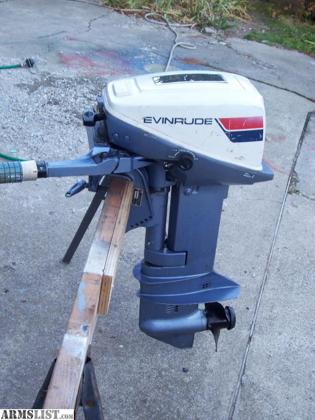 Armslist For Sale Trade Great Running Evinrude 9 9hp