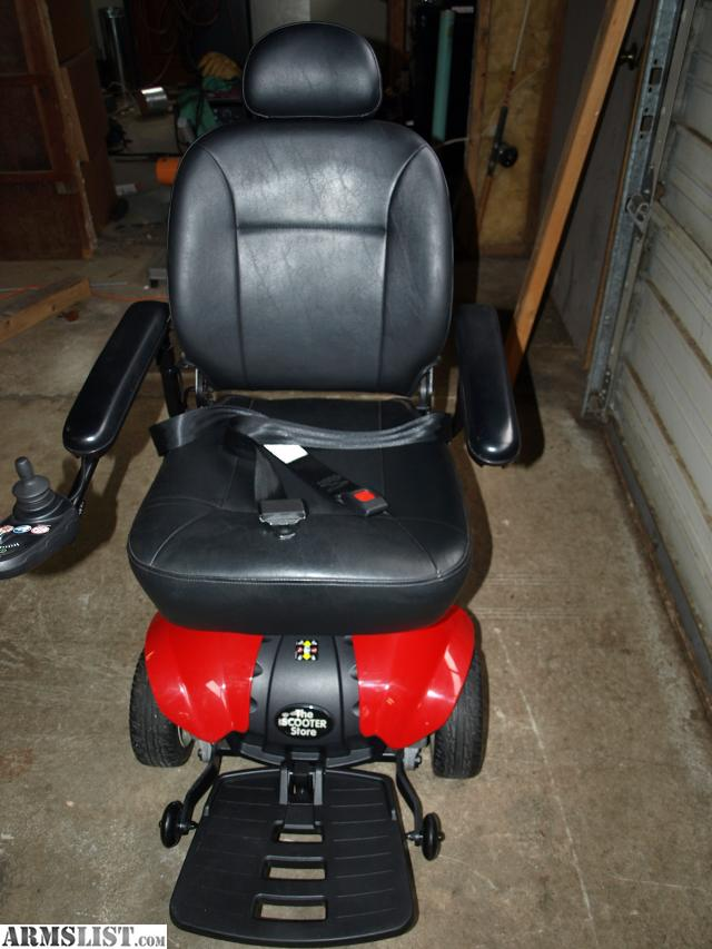 ARMSLIST - For Sale/Trade: TSS300 Scooter Store Power Chair