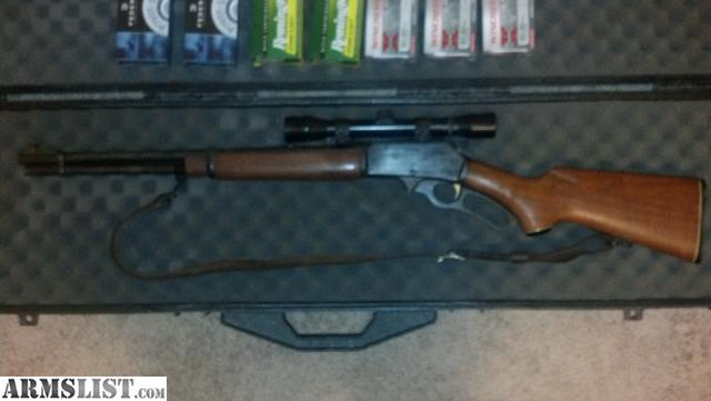 Have a 1976 Marlin 336 30-30 gold trigger with 6x32 Rhino scope and