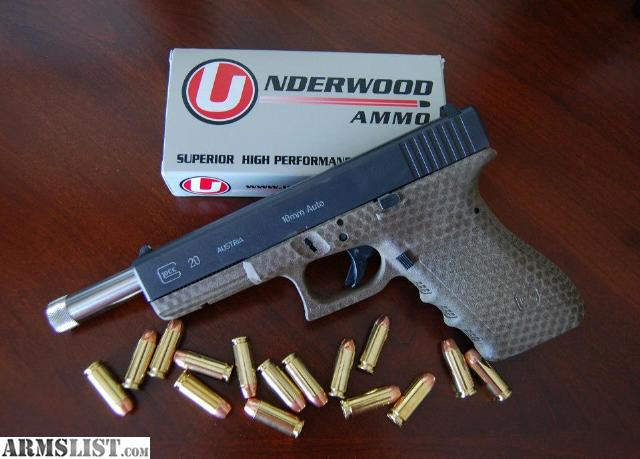 Armslist For Sale Trade Glock 20 10mm Hunting