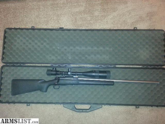 Armslist for sale winchester model 70 sa stainless bull barrel 22