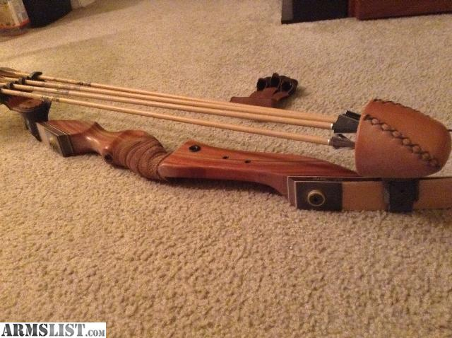 Armslist For Sale Pse Mustang 50 Pound Recurve Bow And Gold Tip Arrows