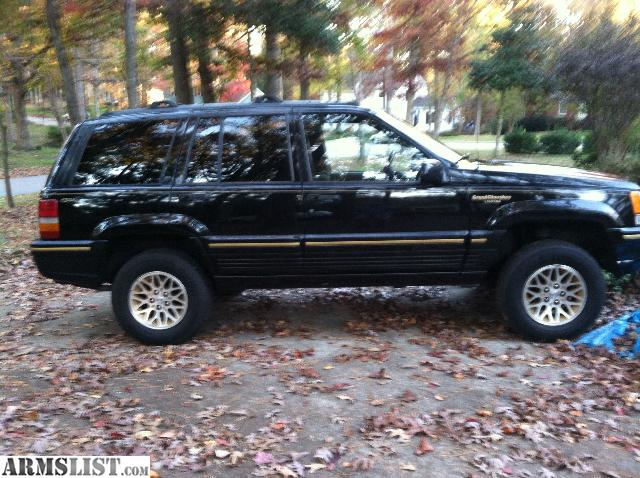 armslist for sale 95 jeep grand cherokee limited updated. Cars Review. Best American Auto & Cars Review