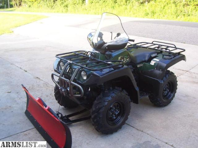Armslist for sale al 1998 yamaha grizzly 600 4x4 w for Yamaha grizzly 600