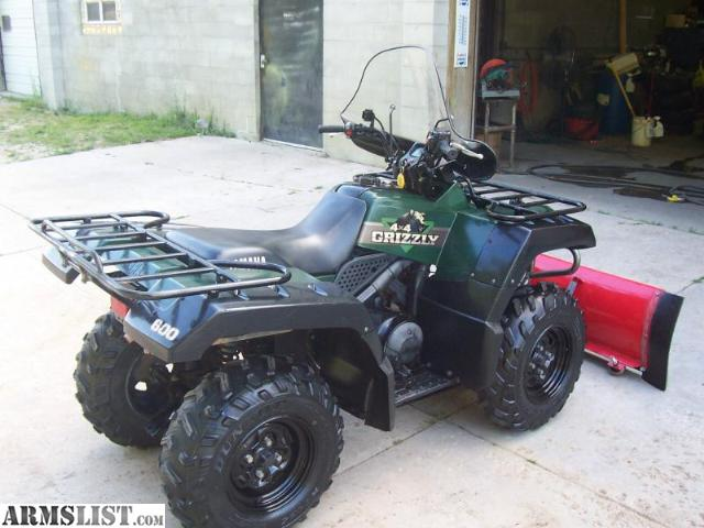 Armslist for sale ok 1998 yamaha grizzly 600 4x4 w for Yamaha grizzly 600