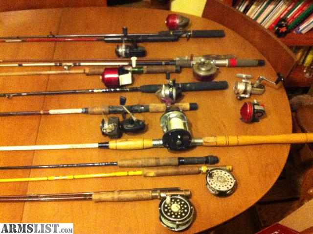 Armslist for sale trade vintage fishing gear all for one for Fishing gear for sale