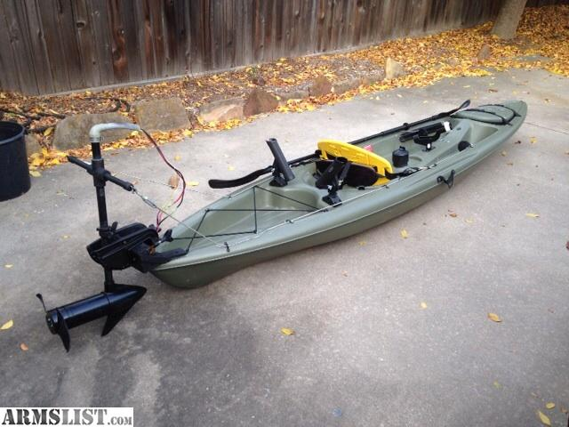 Armslist for sale fishing kayak with trolling motor for Fishing kayak sale