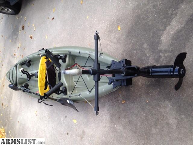 Armslist for sale fishing kayak with trolling motor for Trolling motor on sale