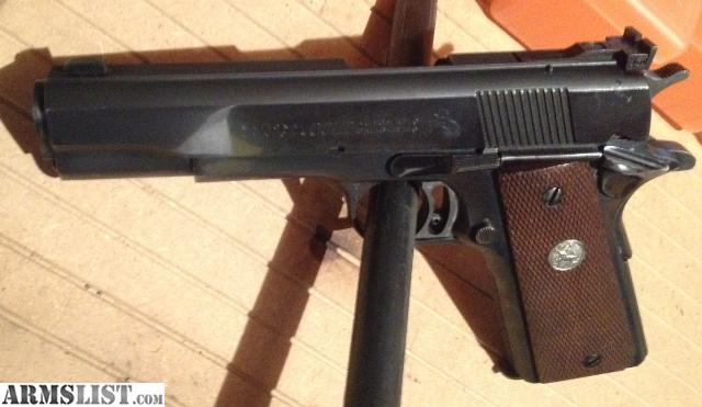 Armslist For Sale Price Reduced 1957 Colt National