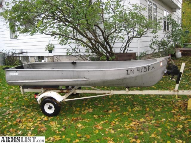 Aluminum row boats for sale in ct used
