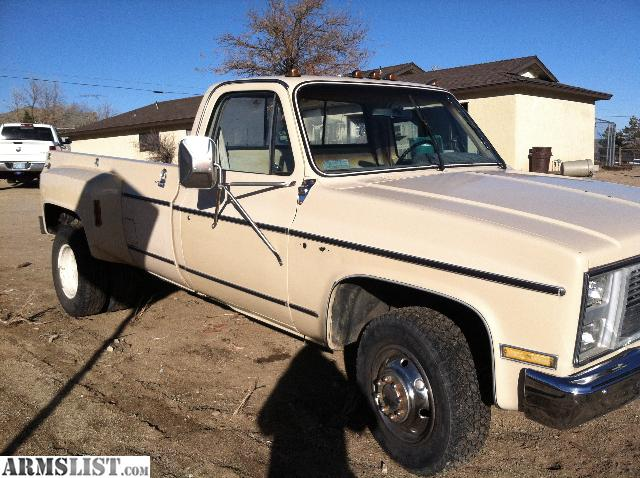 For Sale/Trade: 85 GMC DUALLY FOR TRADE