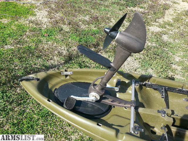 Armslist for sale trade sold pending funds for Pedal drive fishing kayak