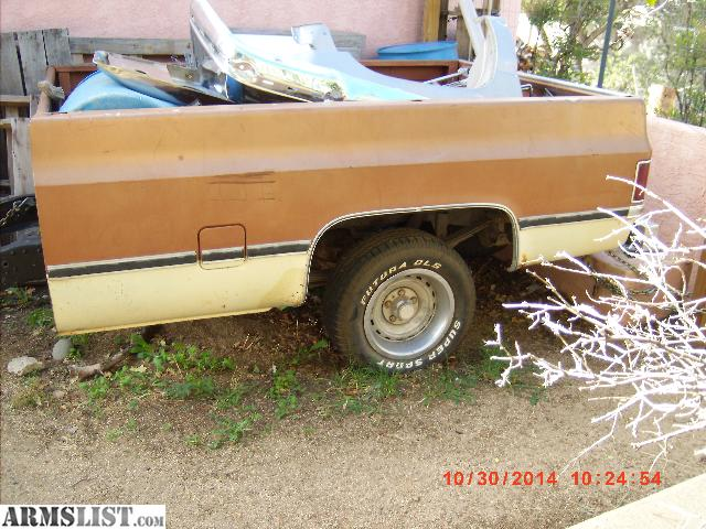 ARMSLIST - For Sale/Trade: 78 chevy truck bed trailer