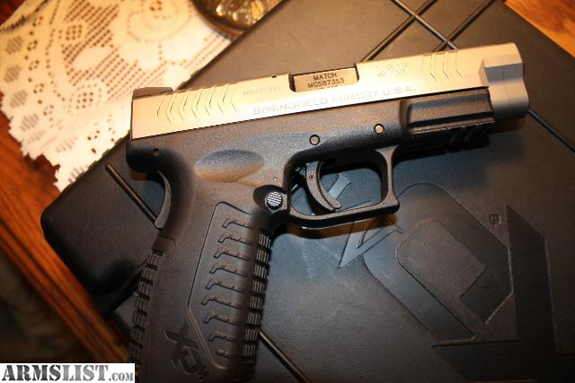 For Sale/Trade: XDm .45 Bi-Tone W/New Trijicon night sights