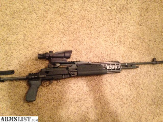 Would sale without the optic  M14 Ebr Acog