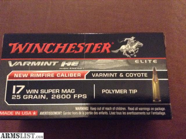 For Sale: .17 WSM and 5.56 AMMO FOR SALE