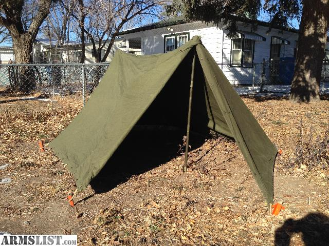 Half Shelter Tent : Armslist for sale usgi half shelter tent with poles and