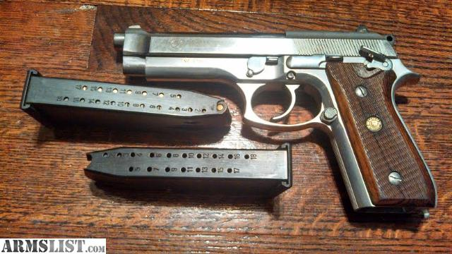 Taurus PT92 AFS 9mm, in great shape. Ambi safety, wooden grips, comes ...