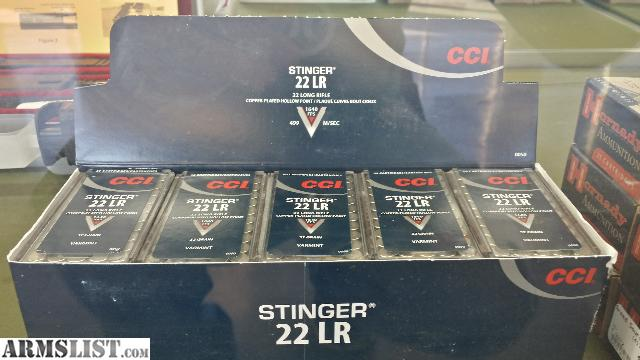for sale overpriced cci stinger 22lr in stock cci stinger