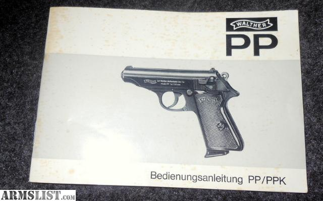 armslist for sale walther pp  ppk owners manual Walther PPK Holster Hitler's Walther PPK