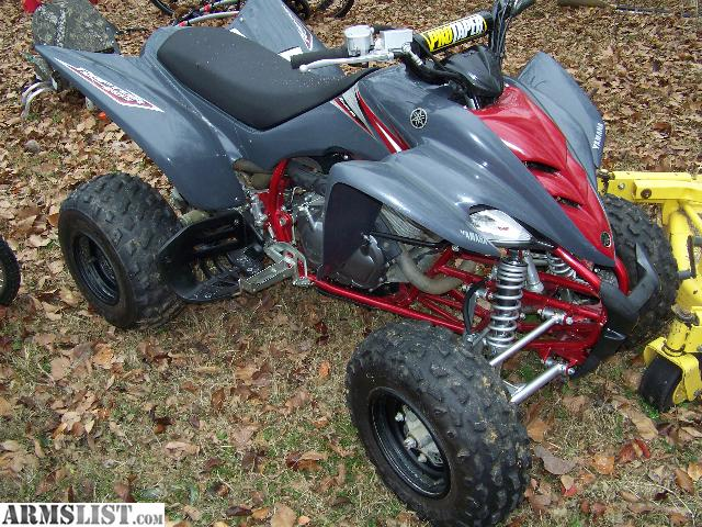 armslist for sale yamaha raptor 350 quad 07 model 2400. Black Bedroom Furniture Sets. Home Design Ideas