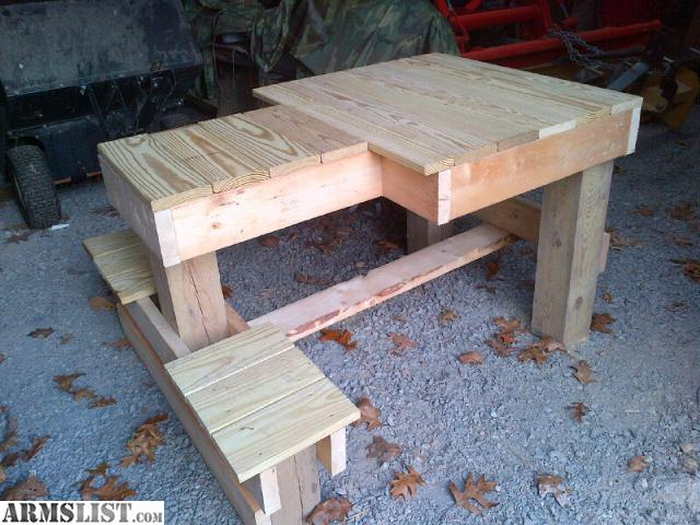 Armslist For Sale Trade Shooting Bench Platform Double Sided