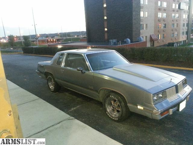 Armslist 1985 cutlass salon 442 for 1985 cutlass salon for sale