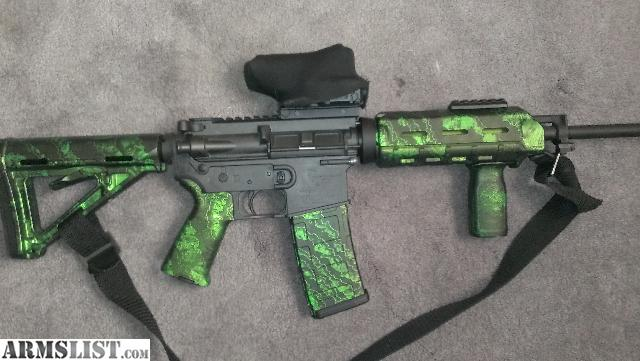 Armslist For Sale Magpul Zack Green Zombie Furniture Kit
